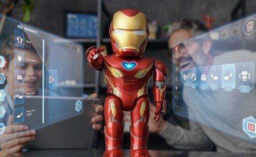 """优必选 x 漫威!解锁机器人新玩法,真实版""""钢铁侠""""即将开启预售"""