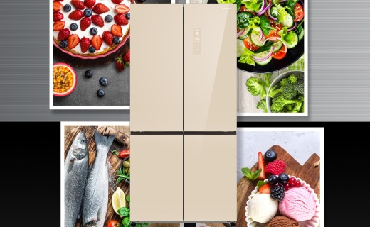 松下大十字冰箱发布:高效节能,五温区控?#24405;?#26415;!