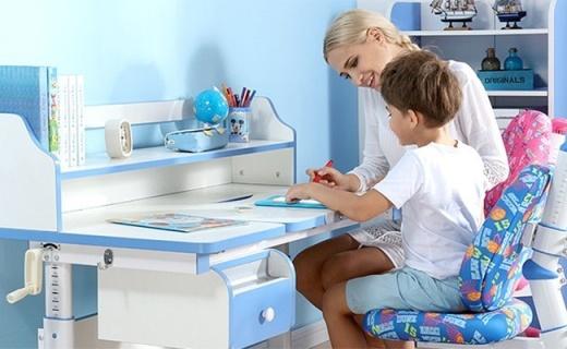 西昊儿童学习桌椅?#33322;?#24230;高?#28909;我?#35843;,6-18岁孩子都能用