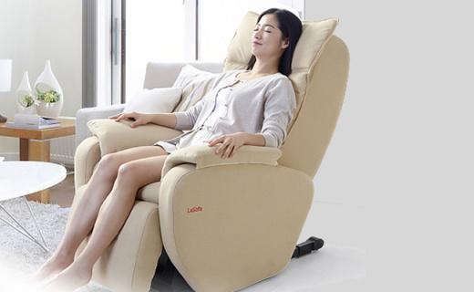 Litec多功能按摩椅:L型導軌全方位按摩,全身舒爽