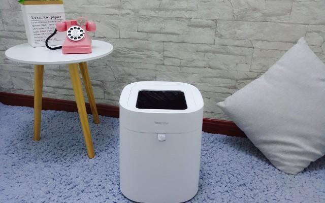 拓牛智能垃圾桶T Air,一鍵打包換袋,垃圾桶也可以這么高大上