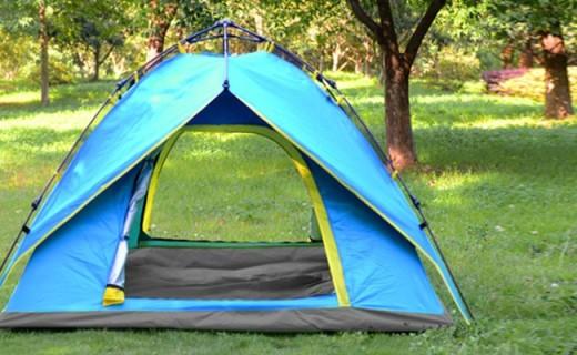 威迪瑞户外帐篷:3秒就能撑开,抵御强风冰雹无压力