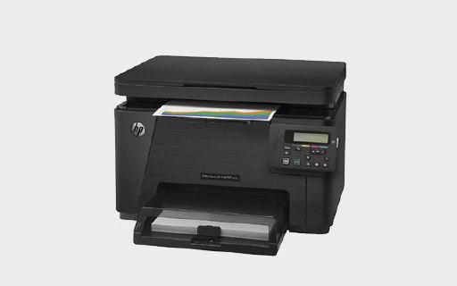 惠普M176n打印機:彩色激光二合一,在外旅行也能打印資料