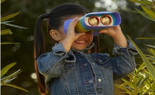 Educational Insights兒童望遠鏡:輕量好拿,幫助孩子探索自然