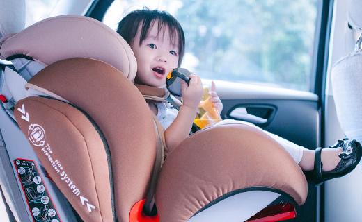 換了這個安全座椅,寶貝由普通艙瞬間升級到了頭等艙