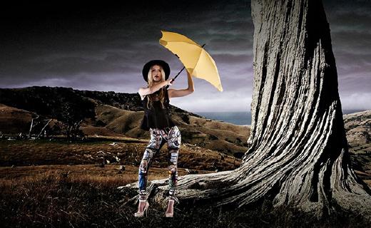 能抗12級大風的高能雨傘,還能防雷劈