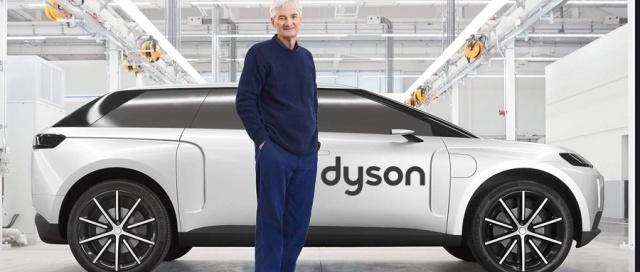 """英國首富花43億造的""""戴森電動車""""首次亮相!續航近1000公里,如今不玩了......"""