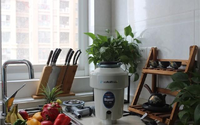 告别厨房食物垃圾的烦恼,提升生活?#20998;?| 唯斯特姆食物垃圾处理器
