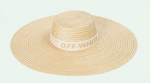 Off White推出寬檐草帽,出國度假時尚單品