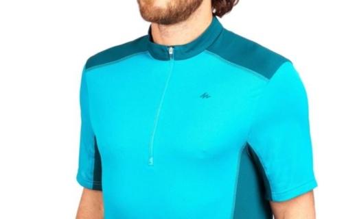 迪卡儂運動速干T恤:速干面料除濕排汗,彈性貼合運動更輕松