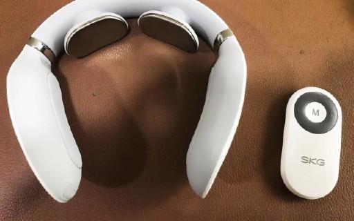 SKG4098颈椎按摩器初体验:大冬天按摩还能加热,舒服哦