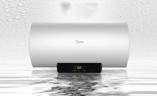 美的F8021-X1?#20154;?#22120;:双重抑菌健康洗澡,加长防电墙使用安全