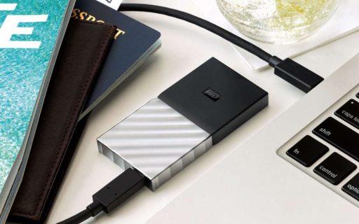 西数首款SSD移动硬盘,2米防摔3秒传完高清电影