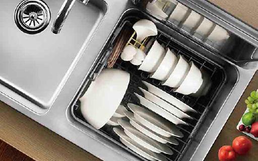 方太水槽洗碗機,洗碗輕松干凈還能洗果蔬