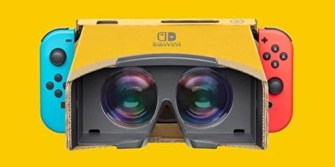 Switch VR来了!任天堂推出Nintendo Labo新套装