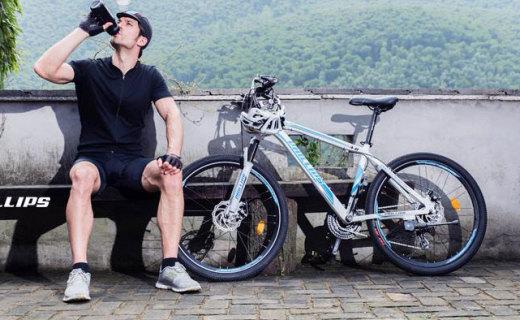 菲利普變速山地車:先進的變速系統,騎行不累超流暢