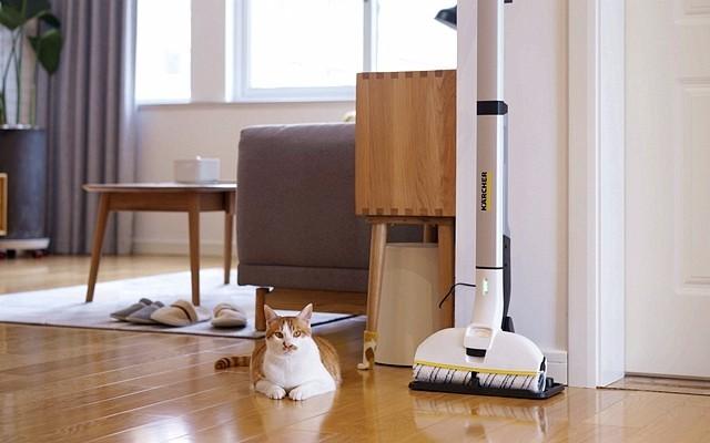 讓輕松清潔成為可能 | 卡赫FC3d無線自清潔擦地機