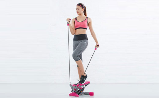 迪卡儂踏步機:不傷膝蓋更安全,占地小無噪音減肥很容易