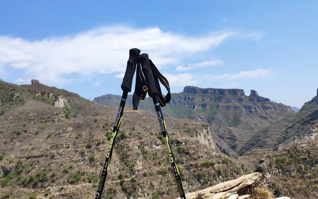 轻若鸿毛 碳为观止 探路者勃朗登山杖评测
