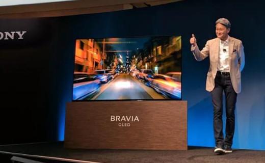 索尼首款OLED电视,声音竟然从屏幕发出来