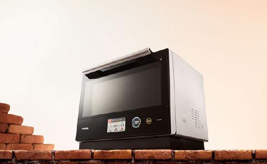 東芝新款水波爐,蒸箱烤箱微波爐一個全搞定