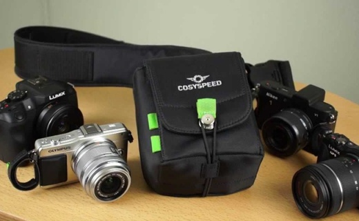 可以單手取設備的相機包,讓你抓拍更及時