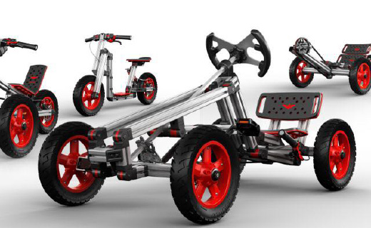 這輛玩具車有15種變化,竟能讓熊孩子玩13年都不膩