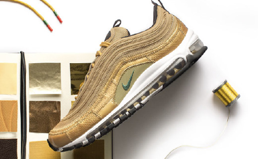 黄金鞋在此!C罗专属Nike Air Max 97即将发售