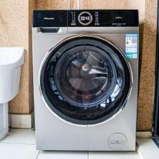 永磁DD直驅、微蒸除螨:海信HD1014FD蒸汽洗烘一體機