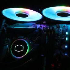 ARGB控制器,支持神光同步,酷?#28210;?#23562;海魔240G水冷散热器