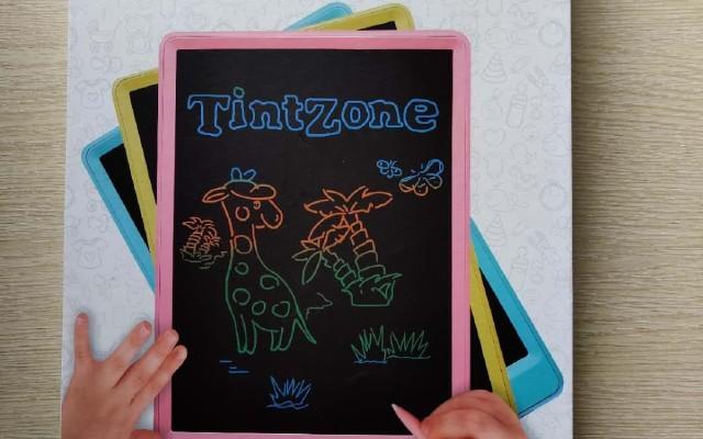 TintZone繪特美T2兒童彩色液晶手寫板報告