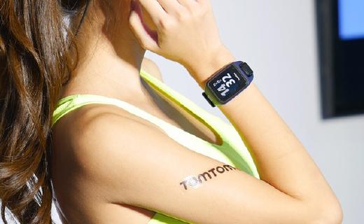 TomTom新款光電心率運動表,能聽歌還帶導航