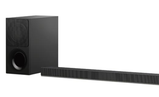 索尼電視配套音箱:無線低音單元,支持藍牙連接