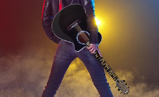 學吉他跟玩游戲一樣簡單,有它就能自學吉他