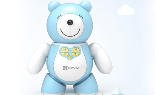 螢石發布新款兒童陪護機器人,看得見,能聊天,從小培養寶寶動手力