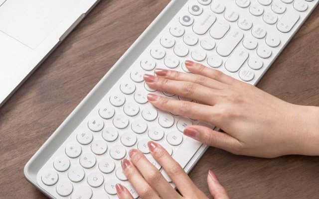 米物藍牙雙模鍵盤