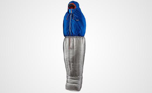 巴塔哥尼亞新款睡袋,保暖超強還能秒變羽絨服!