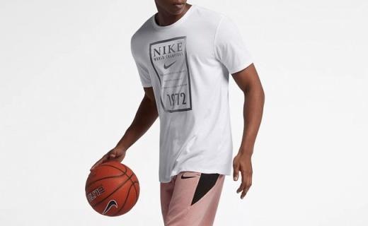 耐克男子短袖T恤:纯棉面料透气亲肤,圆领款百搭有型