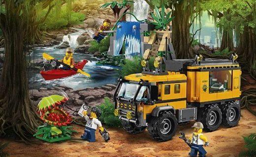 乐高城市系列积木玩具:多种人偶造型,材质健康安全