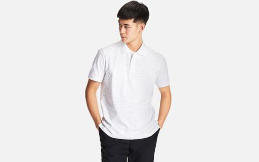 优衣库速干POLO衫:长绒棉透气柔软,速干功能吸汗干爽