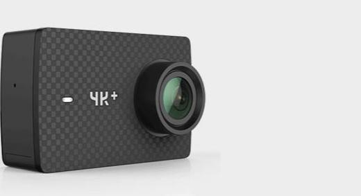 小蟻 YI 4k+運動相機 :4K高清畫質防水防抖,戶外航拍潛水均可使用
