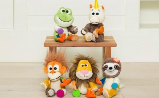 超萌毛絨積木玩具,國際大牌企業打造