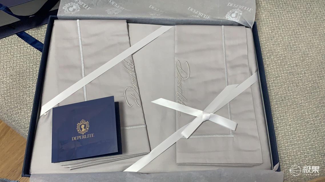 DEPERLITE法国进口欧式贡缎全棉四件套
