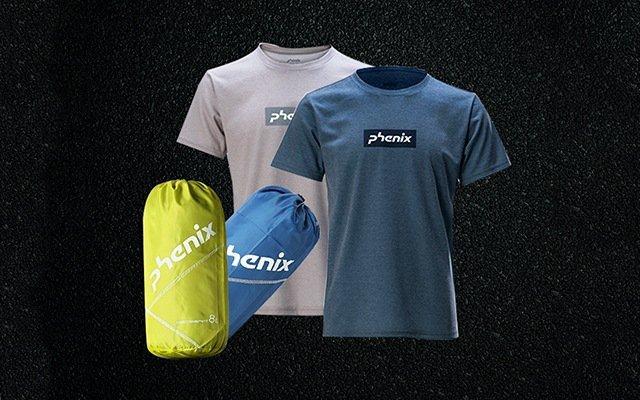 phenix 消臭抑菌收納袋+魔力消臭速干T恤