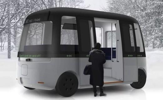 和风遇上性冷淡:无印良品推出无人驾驶巴士
