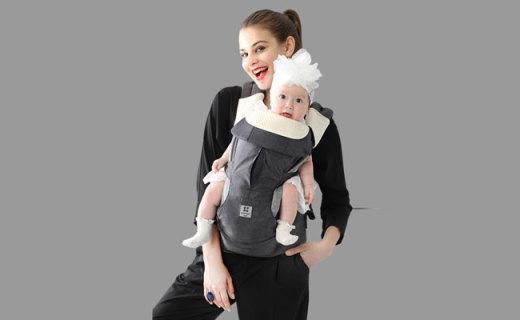 Todbi婴儿背带:多功能自由转换,一体背带舒适安全