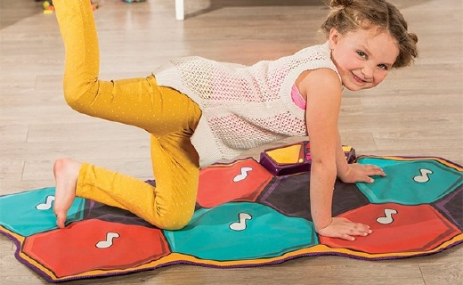 B.toys音樂跳舞毯:多種玩法舒壓啟蒙,培養孩子音樂興趣