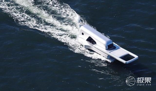 """画面震撼!日本打造""""拉链船"""",犹如巨大拉链撕开水面"""