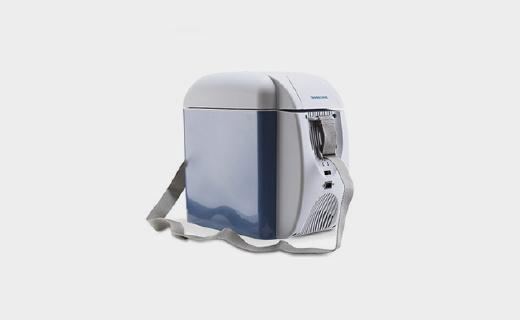 美固L07车载冰箱:7L大容量保冷又保温,超轻自重还可单肩背带