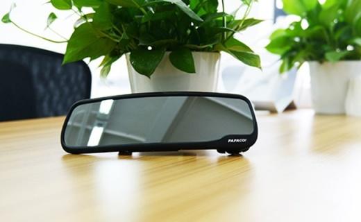 PAPAGO M20后视镜:动态监测记录,防炫目镜面夜拍也清晰